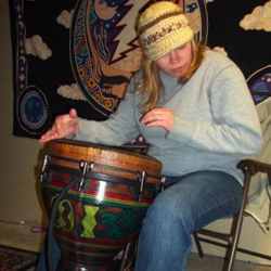 Carlee Kuhn Host of As The Drum Beats every Monday at 1pm